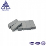 8% Co YG8 89.5hra 25*10*9.0mm Tungsten Carbide Alloy Inserts for Cutting Plastic Button