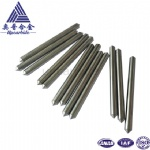99.96% W OD6.0*75mm with 90 degree needle pure wolfram tungsten rod