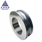 Coating Cover OD180*ID110*50mm Stainless Wire Tungsten Carbide Grooved Wire Traction Roller