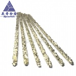 1/4 -3/16 inch 60~70% particle 450mm length Medium-grained tungsten carbide surfacing composite rod used for cutting